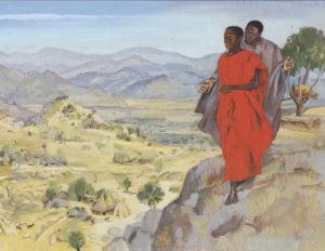 Three Temptations of Jesus by Rev Dr David Rex Orgen of Hilltop United Methodist Church